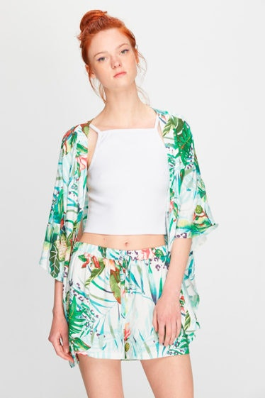 kimono plantas polinesia