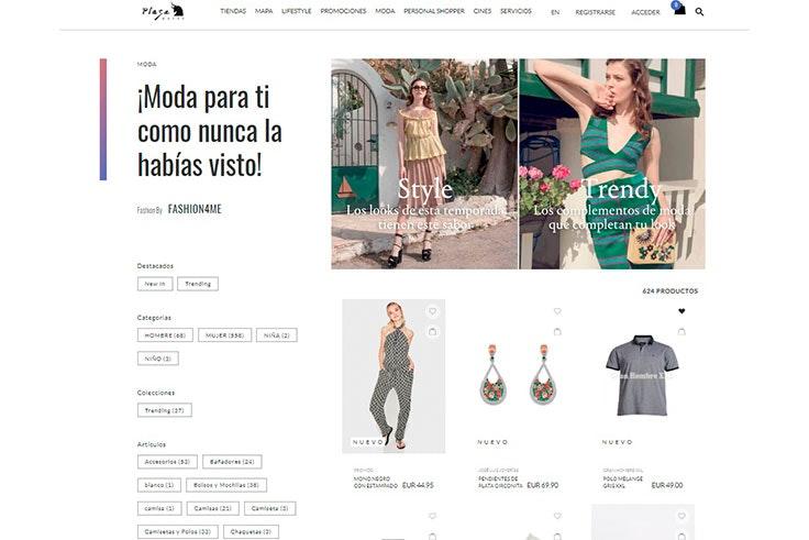Sección Fashion en Plaza Mayor