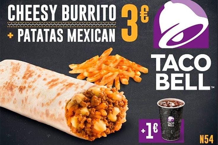 Promociones exclusivas en Taco Bell