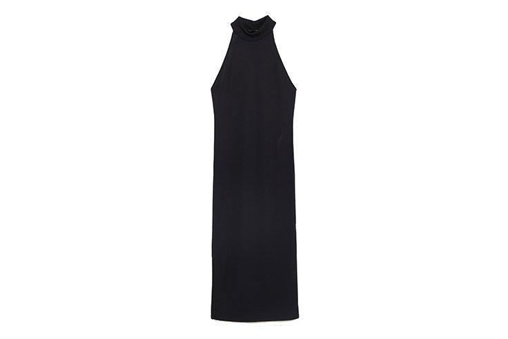 Favotiros de rebajas vestido de Zara negro