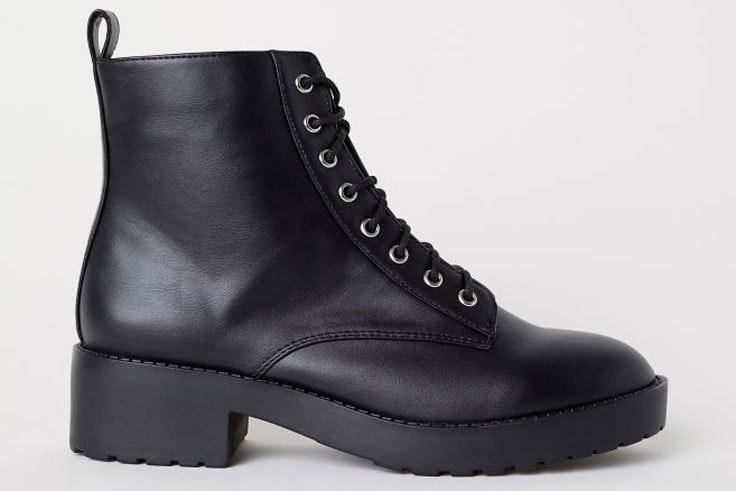 botas-negras-cordon-hm
