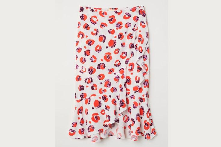 falda-estampado-flores-hm