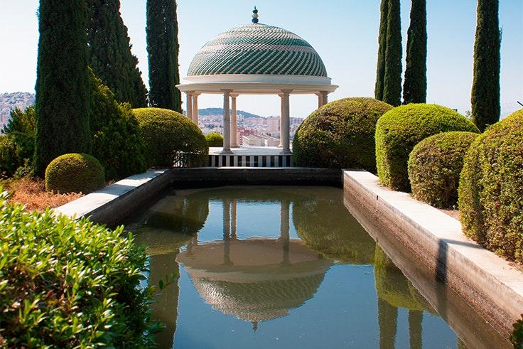 El jardín botánico de Málaga