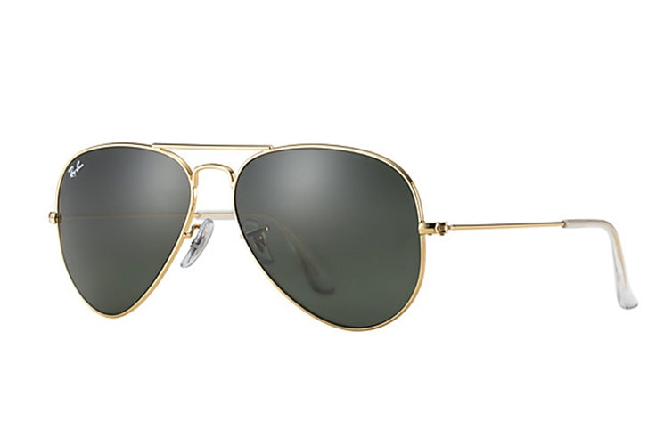 gafas-de-sol-aviador-dorado-ray-ban