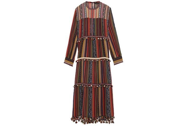 vestido de estilo boho