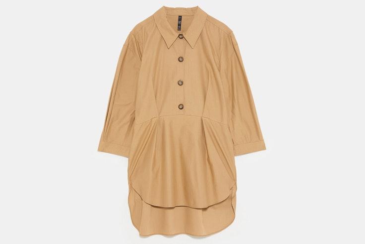 blusa-beige-manga-abullonada-zara-2