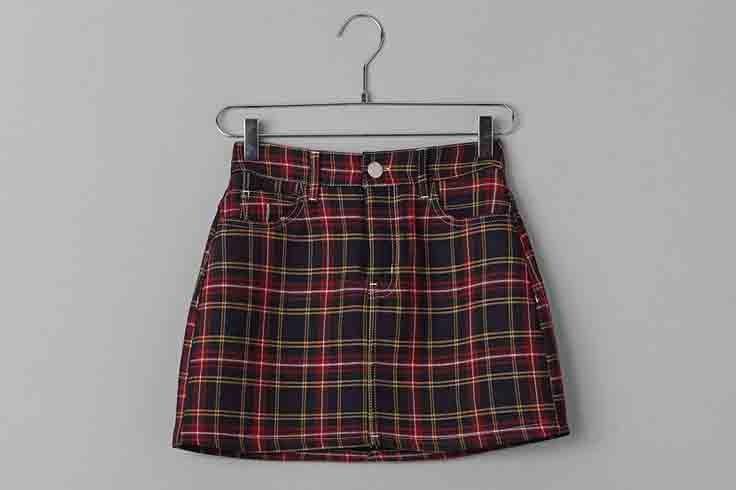 cuadros-escoceses-falda-mini-bershka