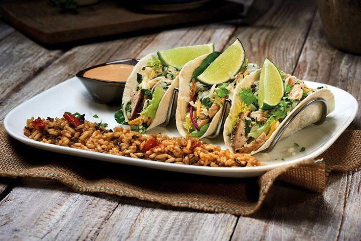 el mejor sabor de la comida americana tacos