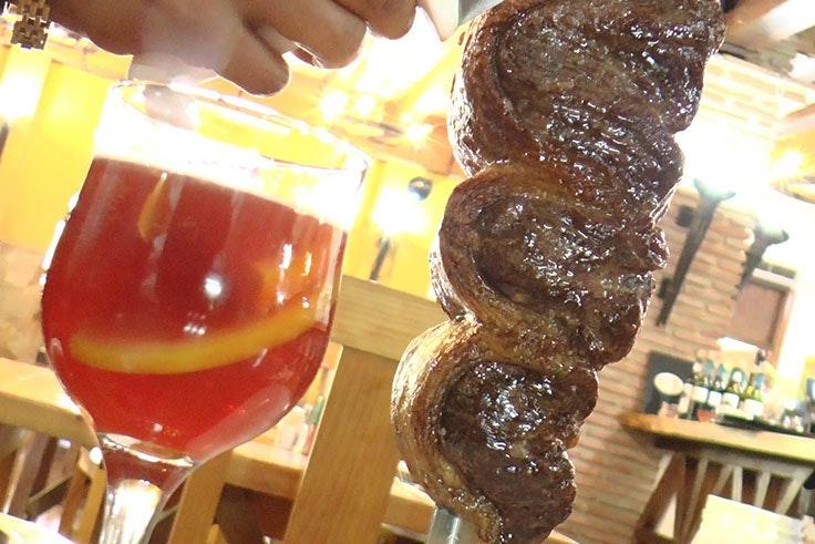 los mejores platos de la posada de brasil