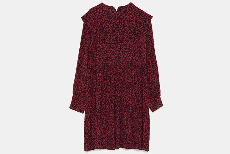 vestido-rojo-estampado-leopardo-zara