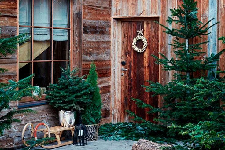 decoracion puertas navidad
