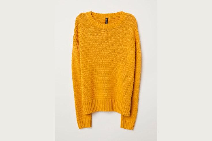 jersey-de-punto-color-amarillo-hm