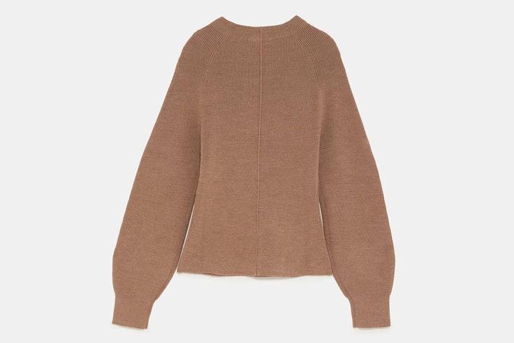 jersey-color-marron-zara