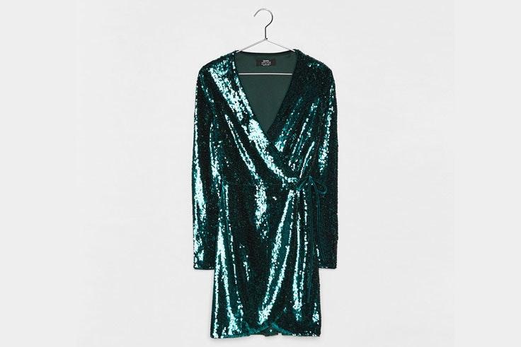 vestidos-para-nochevieja-2018-lentejuelas-verdes-bershka