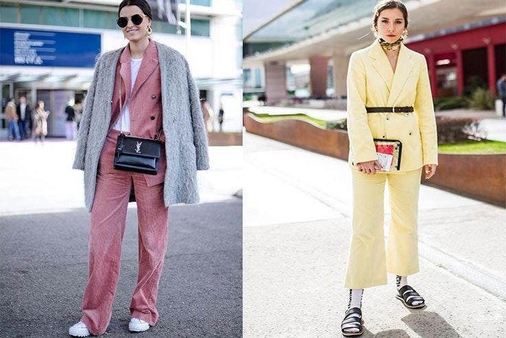 mercedes benz fashion week traje de chaqueta