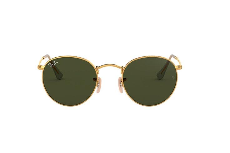 gafas-de-sol-metal-dorado-ray-ban-clasicas-redondas-sunglassshut