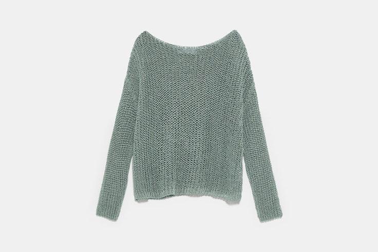 jersey-verde-punto-zara