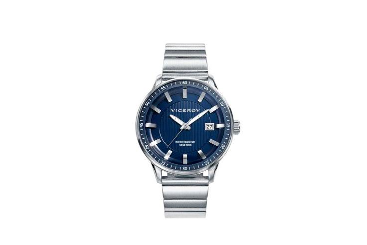 reloj-plata-esfera-azul-viceroy-jose-luis-joyeros