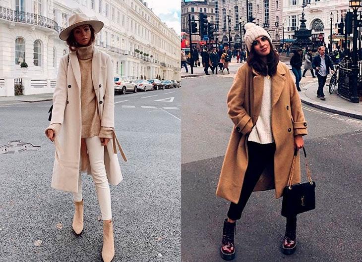 tendencia abrigos camel