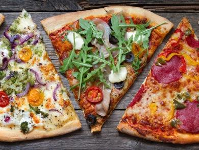 pizza casera salusable