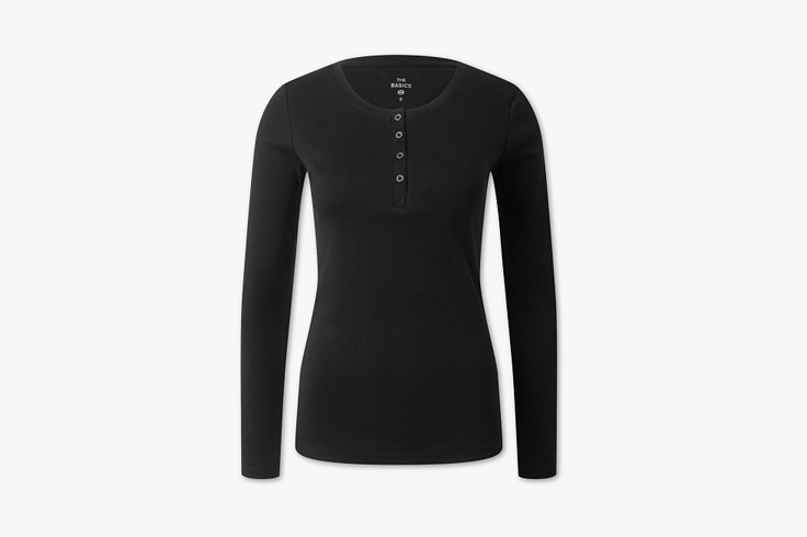 camiseta-negra-manga-larga-botones-cya