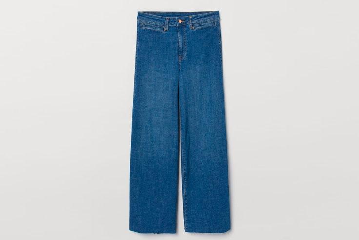 pantalon-vaquero-ancho-bajo-deshilachado-hm