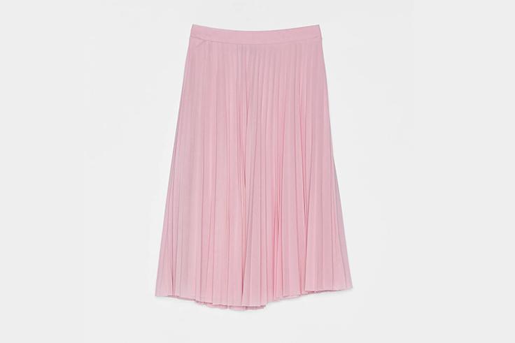 falda-plisada-rosa-bershka