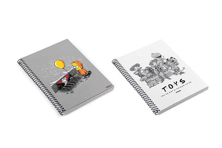 Merchandising-cuadernos
