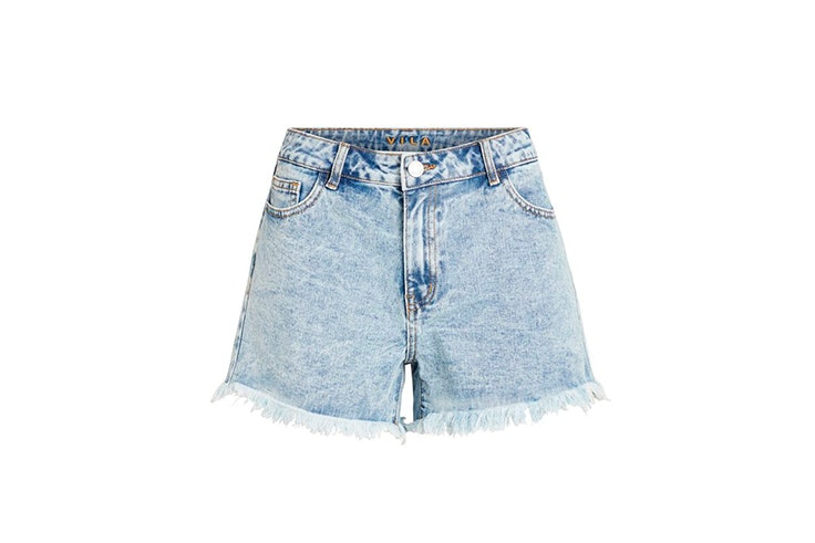 pantalon-corto-deshilachado-vila-loft-six