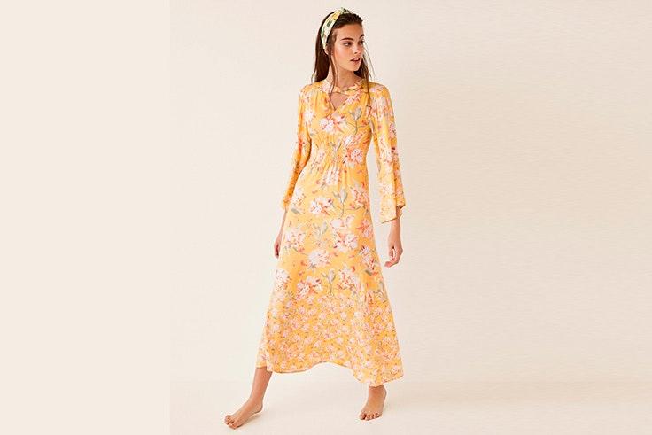vestido-estampado-flores-amarillo-women-secret
