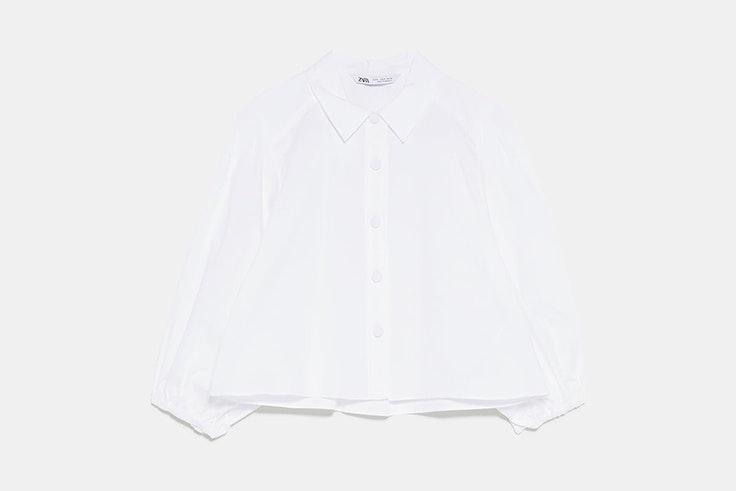 camisa-blanca-manga-abullonada-zara