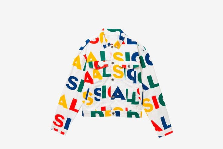 Chaqueta multicolor de Desigual