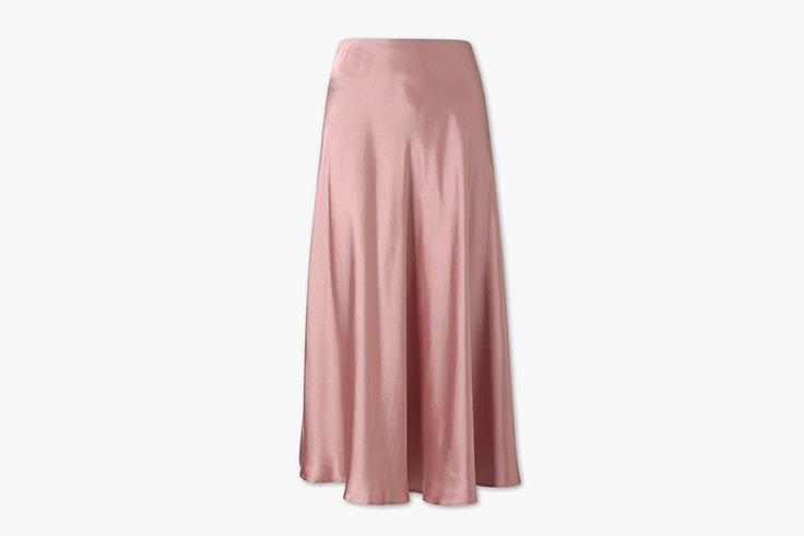 falda-rosa-satinada-larga-cya