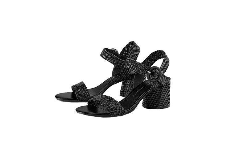 Sandalias-Zara-rafia-negro