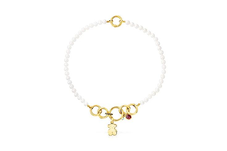 collar perlas tous
