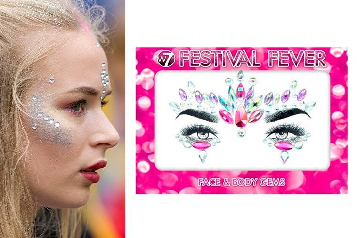 Maquillaje-llamativo-pedrería-festival