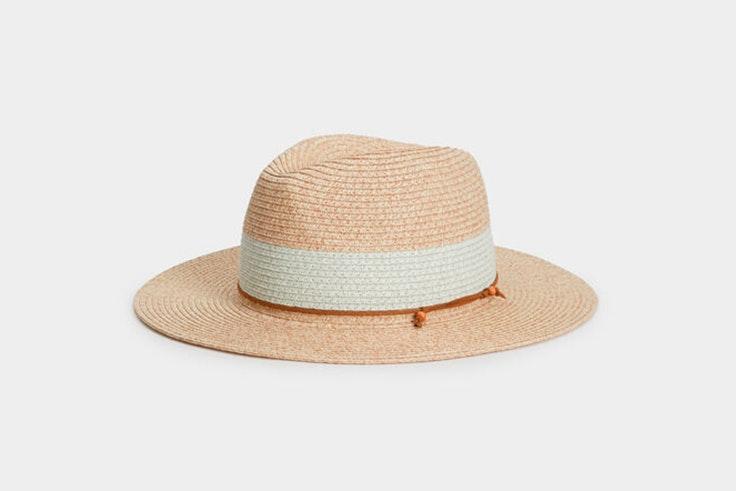 sombrero paja beige parfois