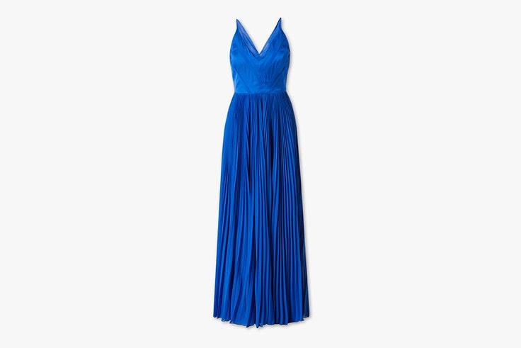 vestido azul klein c&a