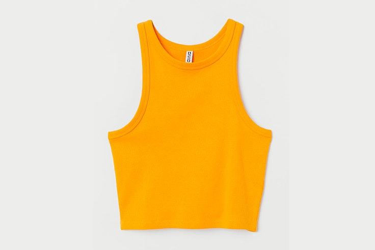 colores de verano influencers top naranja hm