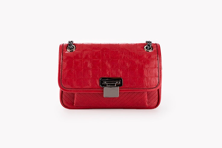 bolso rojo cadena paco martinez