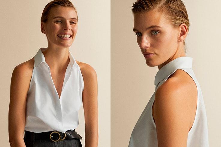 Camisa-blanca-Massimo-Dutti-sin-mangas