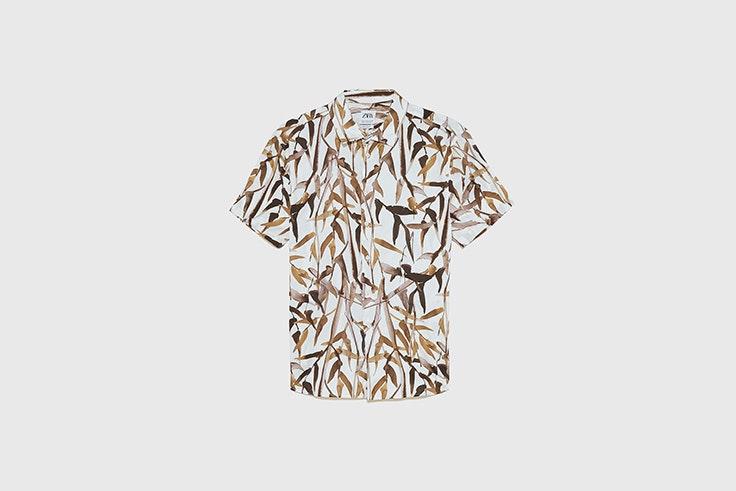 camisa zara el estilo de Alberto Ortiz Rey