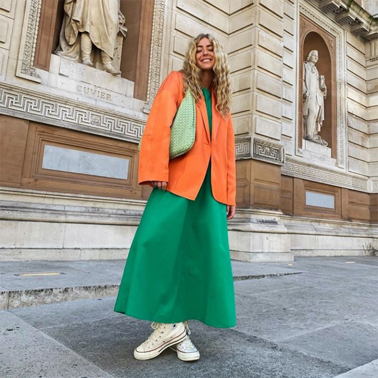 emili sindlev estilo instagram conjunto fashion week septiembre 2019
