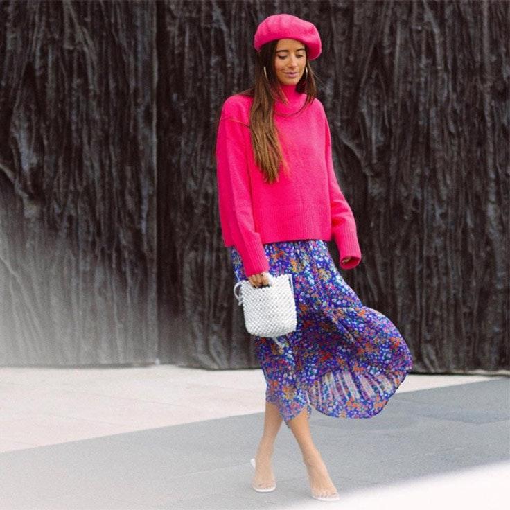 maria fernandez rubies estilo instagram faldas midi