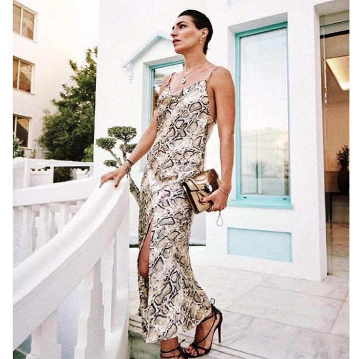 vestidos eugenia osborne estilo vestido animal print