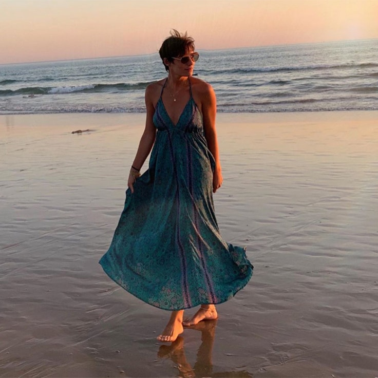 vestidos eugenia osborne estilo vestido azul