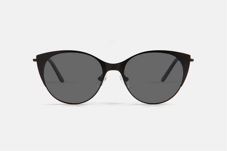 gafas de sol negras multiópticas