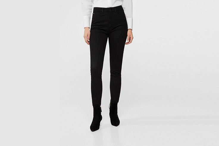 jeans negros cortefiel cris calatrava