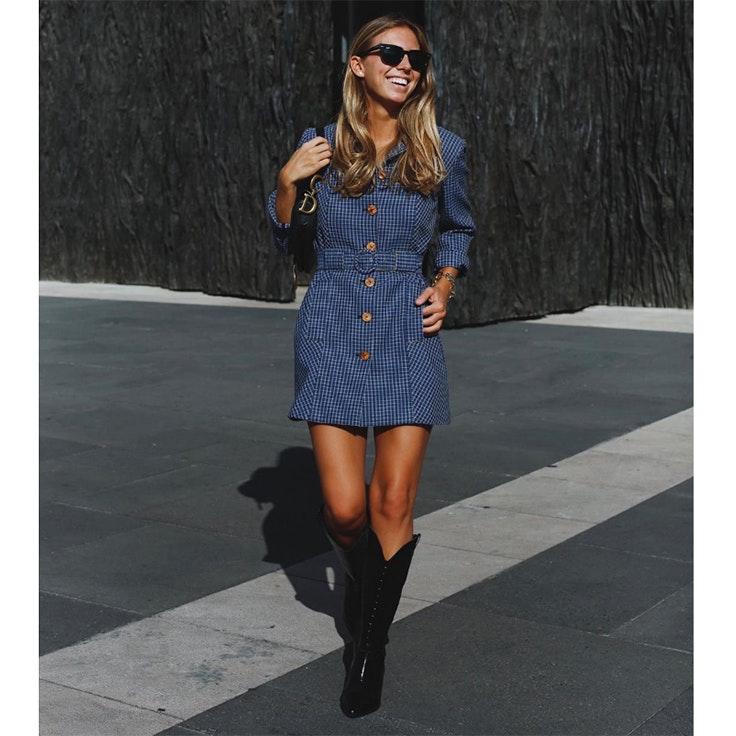 lucia barcena estilo instagram calzado de otoño
