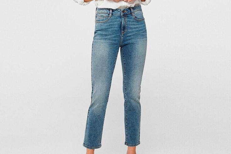 pantalon recto vaquero cortefiel
